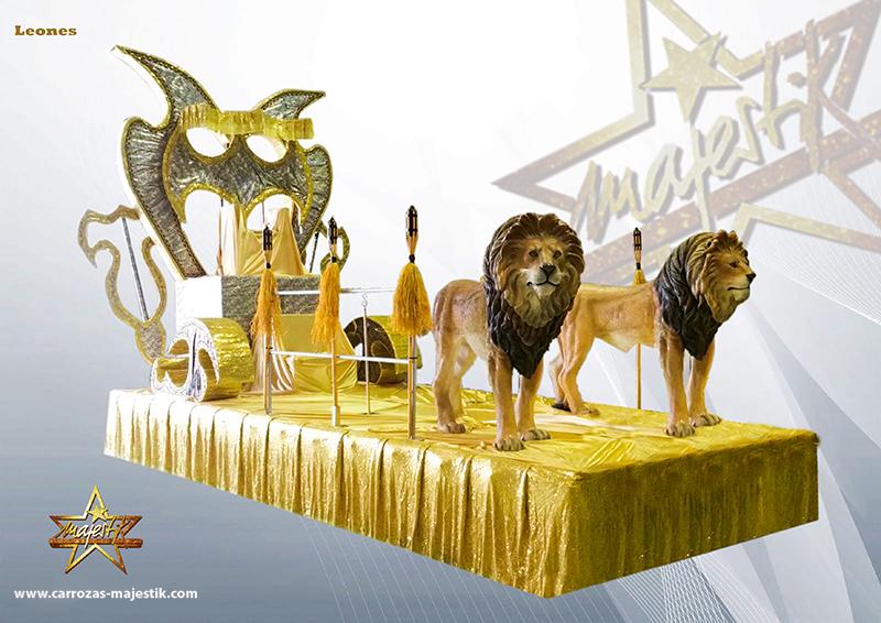 Carroza leones