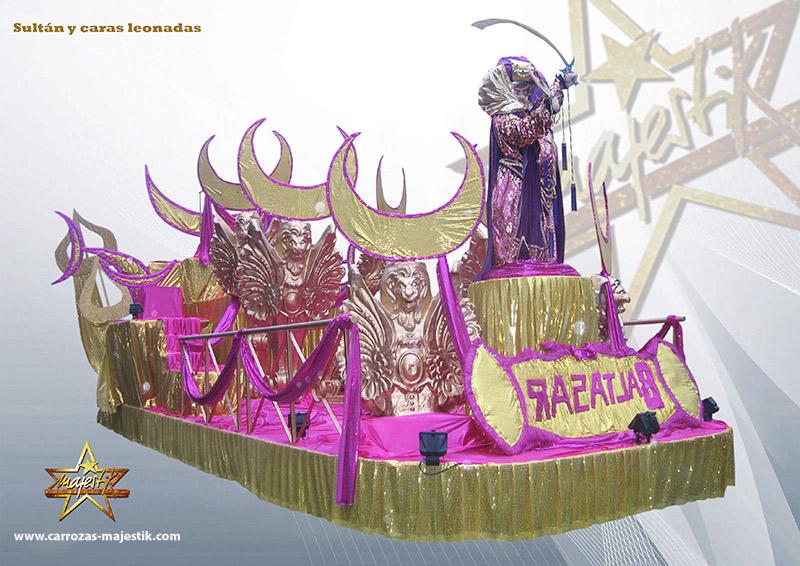 Carroza cabalgata reyes magos