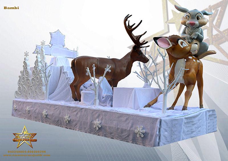 carroza bambi
