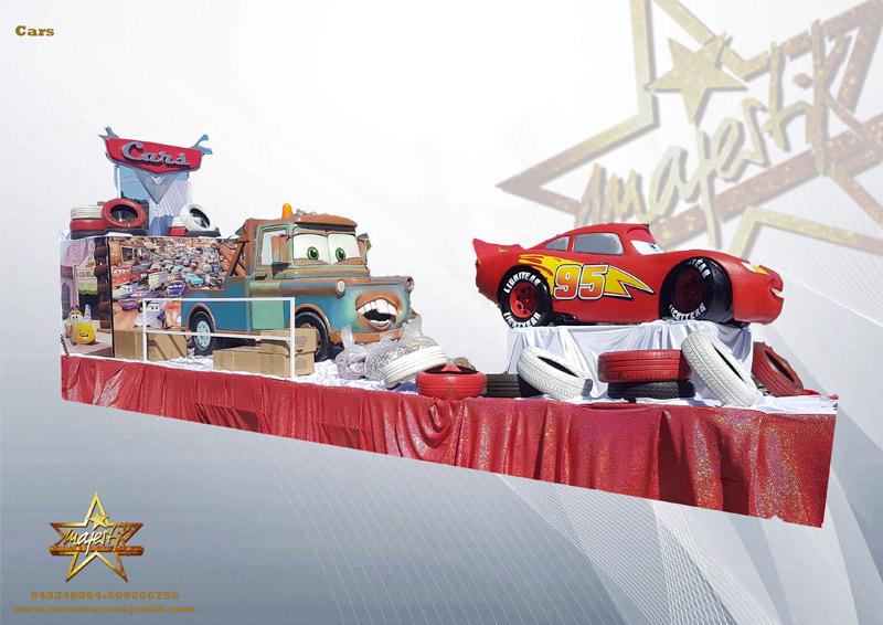 Carroza infantil de Cars