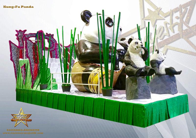 Carroza infantil de Kung Fu Panda