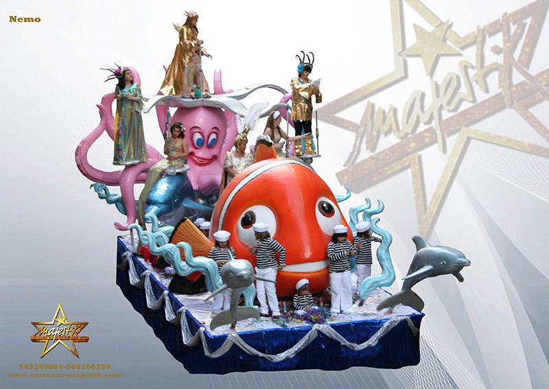Carroza infantil de Nemo
