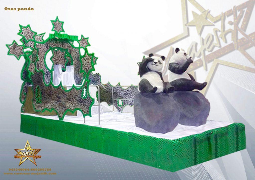 Carroza Osos Panda