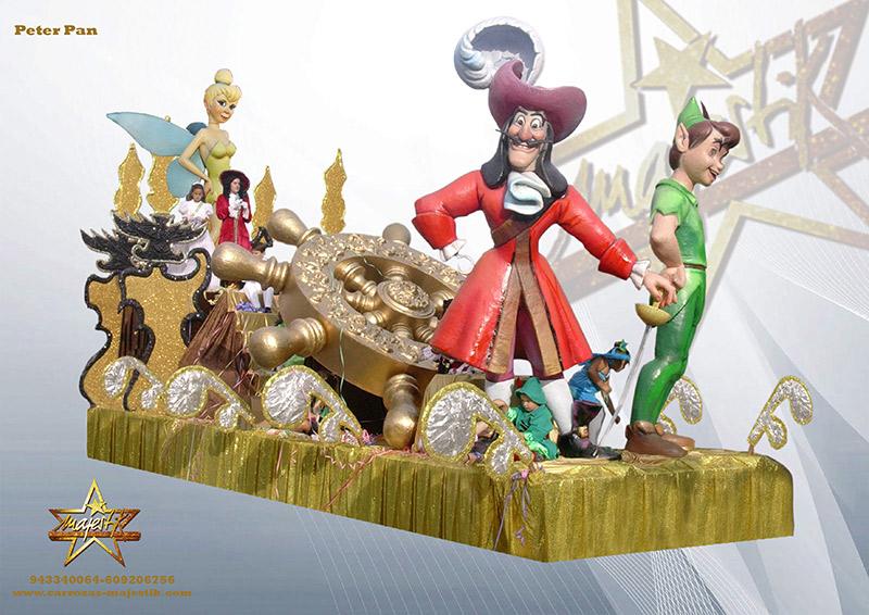 carroza Disney de peter-pan