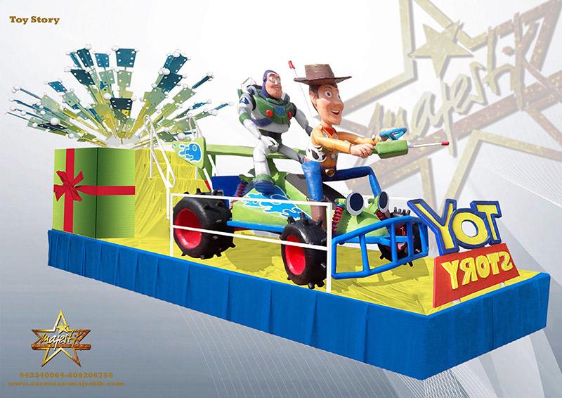 Carroza Toy Story