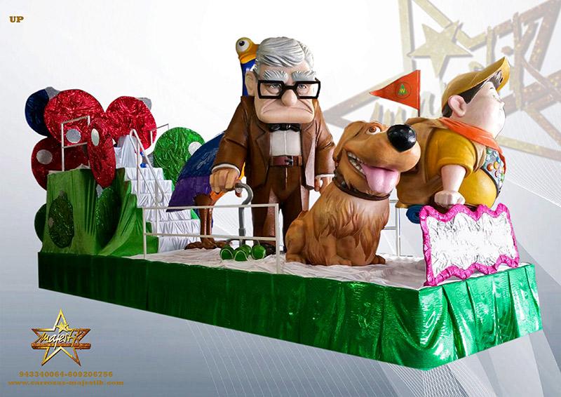 Carrozas infantiles y de Disney para eventos