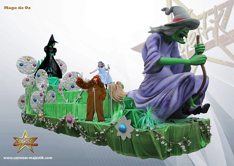 Carroza El Mago de Oz