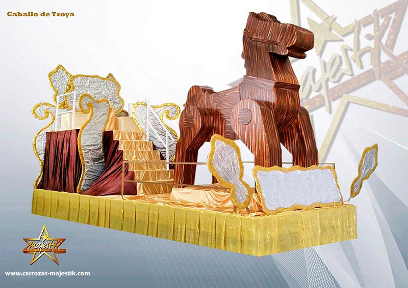Carroza caballo de Troya