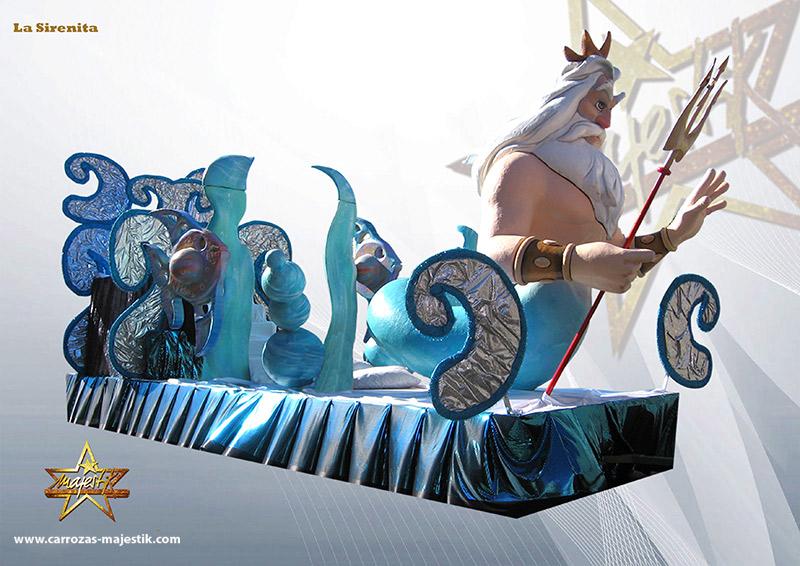 Carroza Poseidón