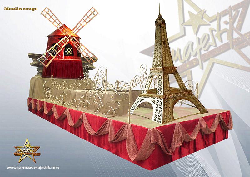 Carroza Moulin Rouge Paris