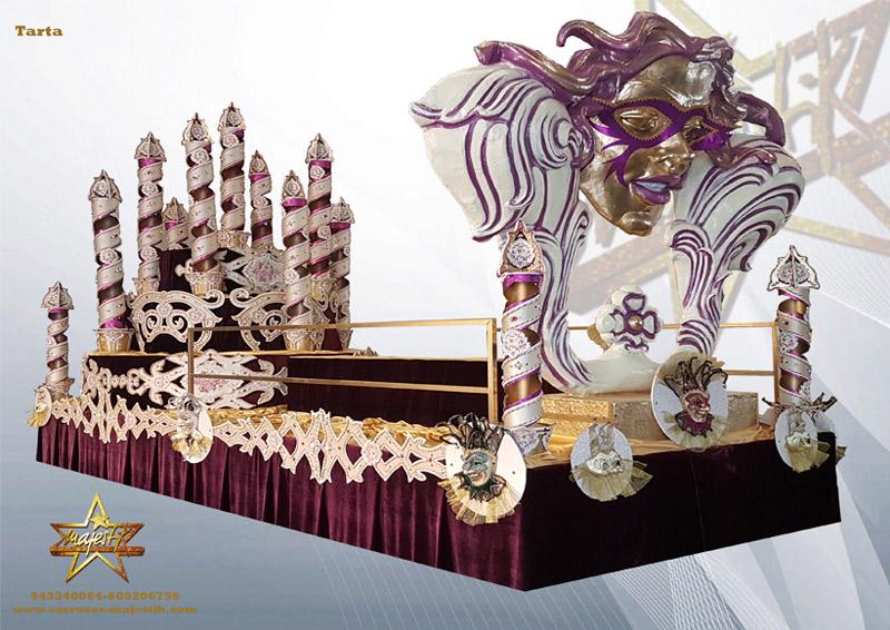 Carrozas para carnavales y desfiles