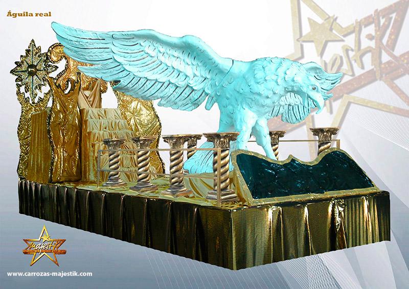 Carroza águila real