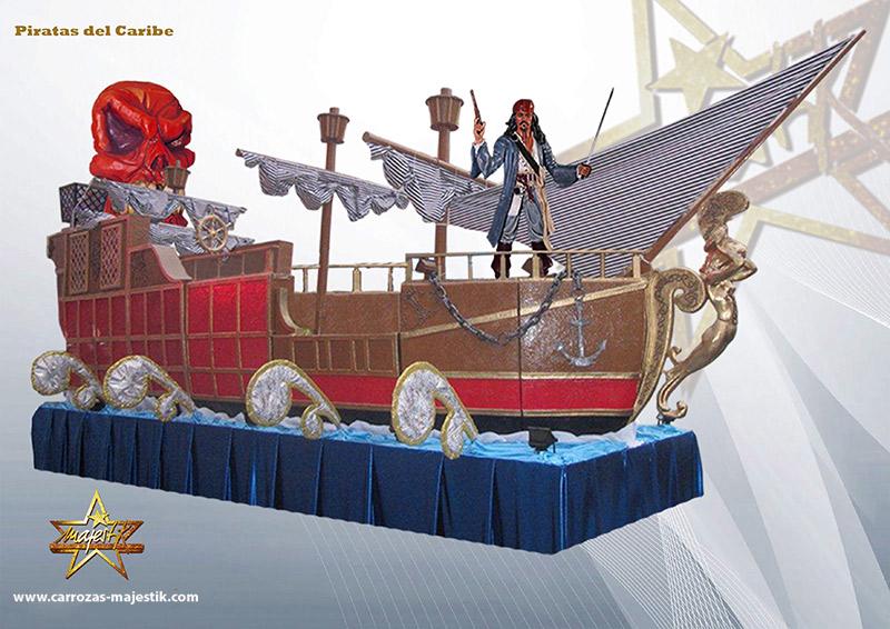 Carroza Piratas del Caribe