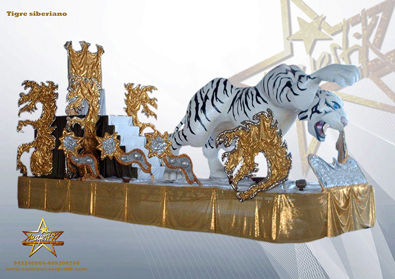 carroza Tigre siberiano