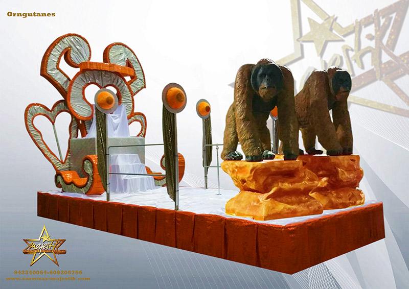 carroza orangutanes