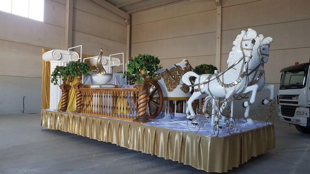 Carrozas para cabalgatas y carnavales
