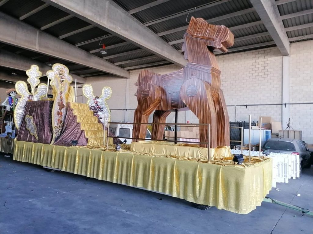 carroza carnavales 2020